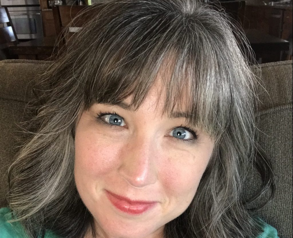 how to embrace naturally gray hair beth