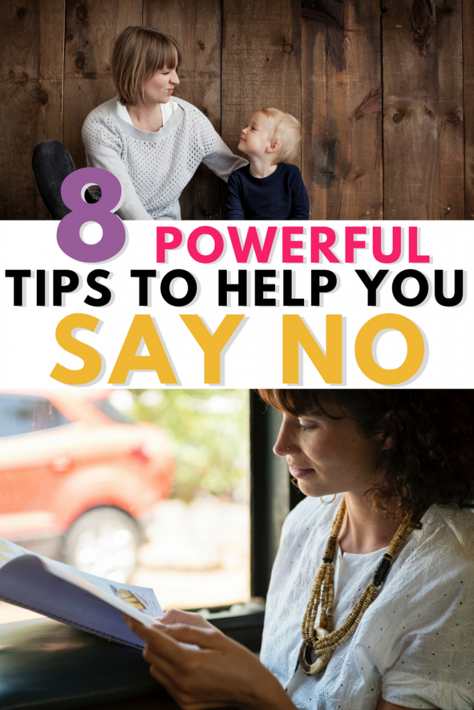 How to learn to say no www.momlifehappylife.com