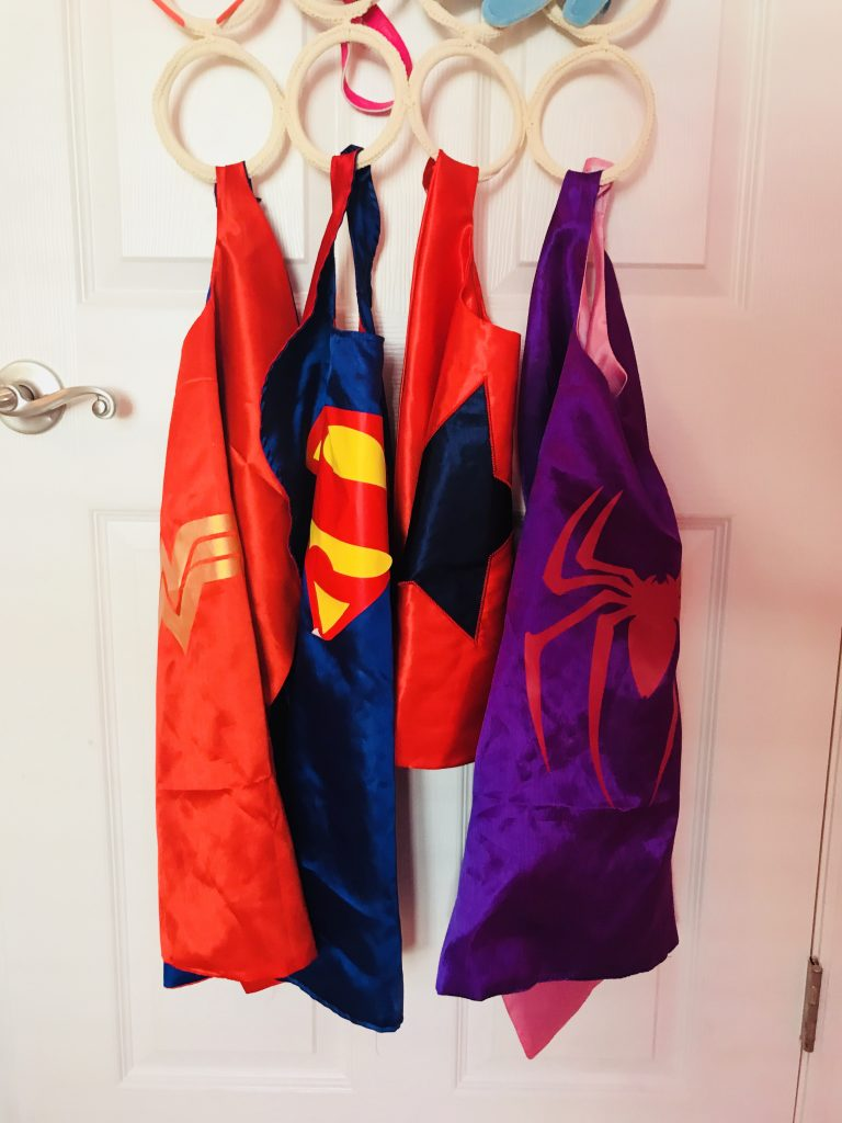 IKEA Kids Storage Playroom Hacks Superhero Outfits