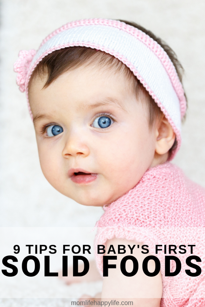 How to introduce solid foods to a baby