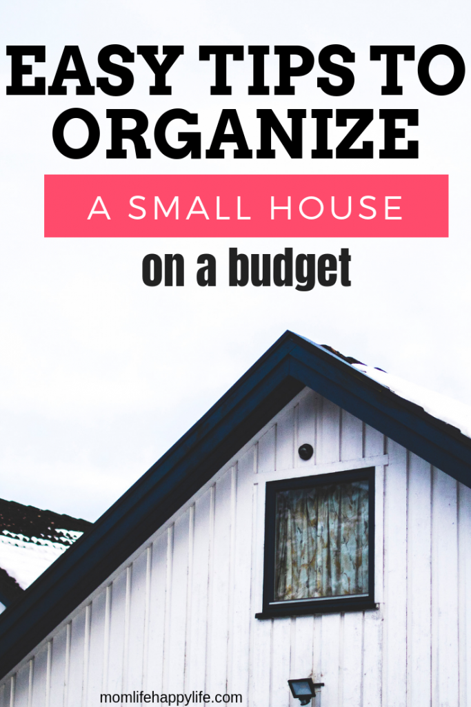 How to organize a small house on a budget