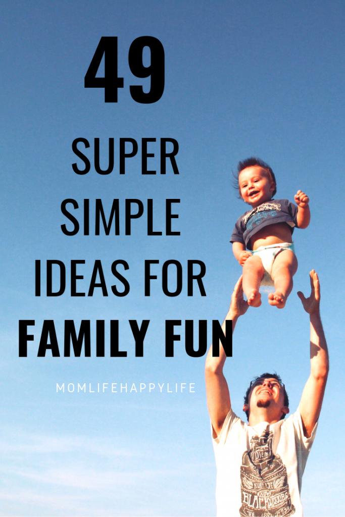 Family Bonding Ideas
