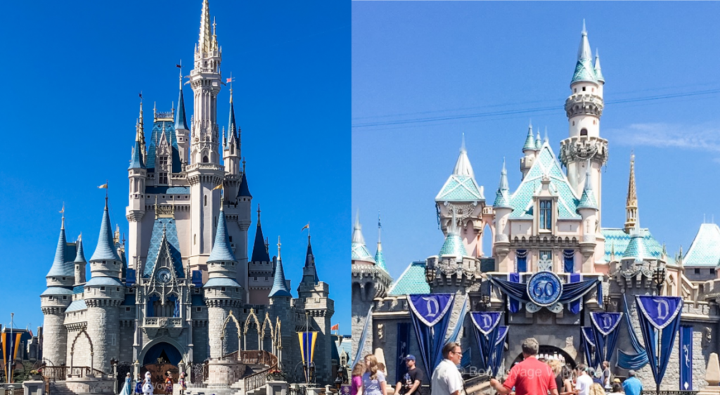 disneyland-castle-disney-world-castle