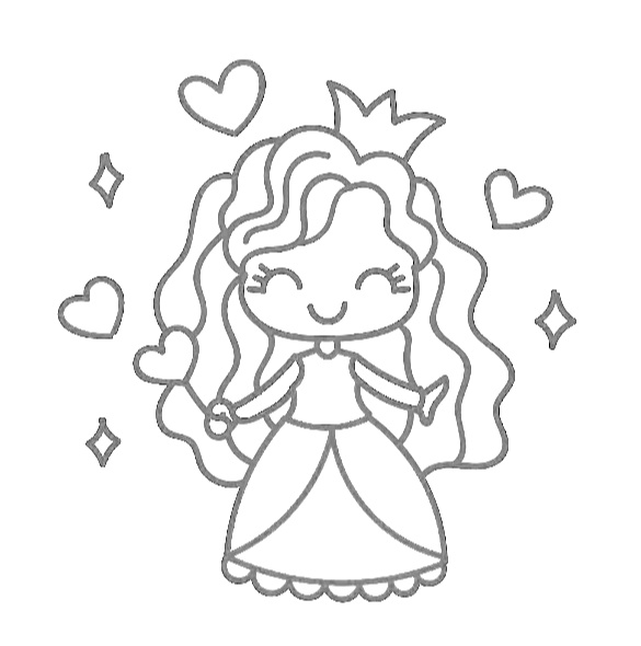 The Cutest Princess Coloring Pages For FREE! - MomLifeHappyLife