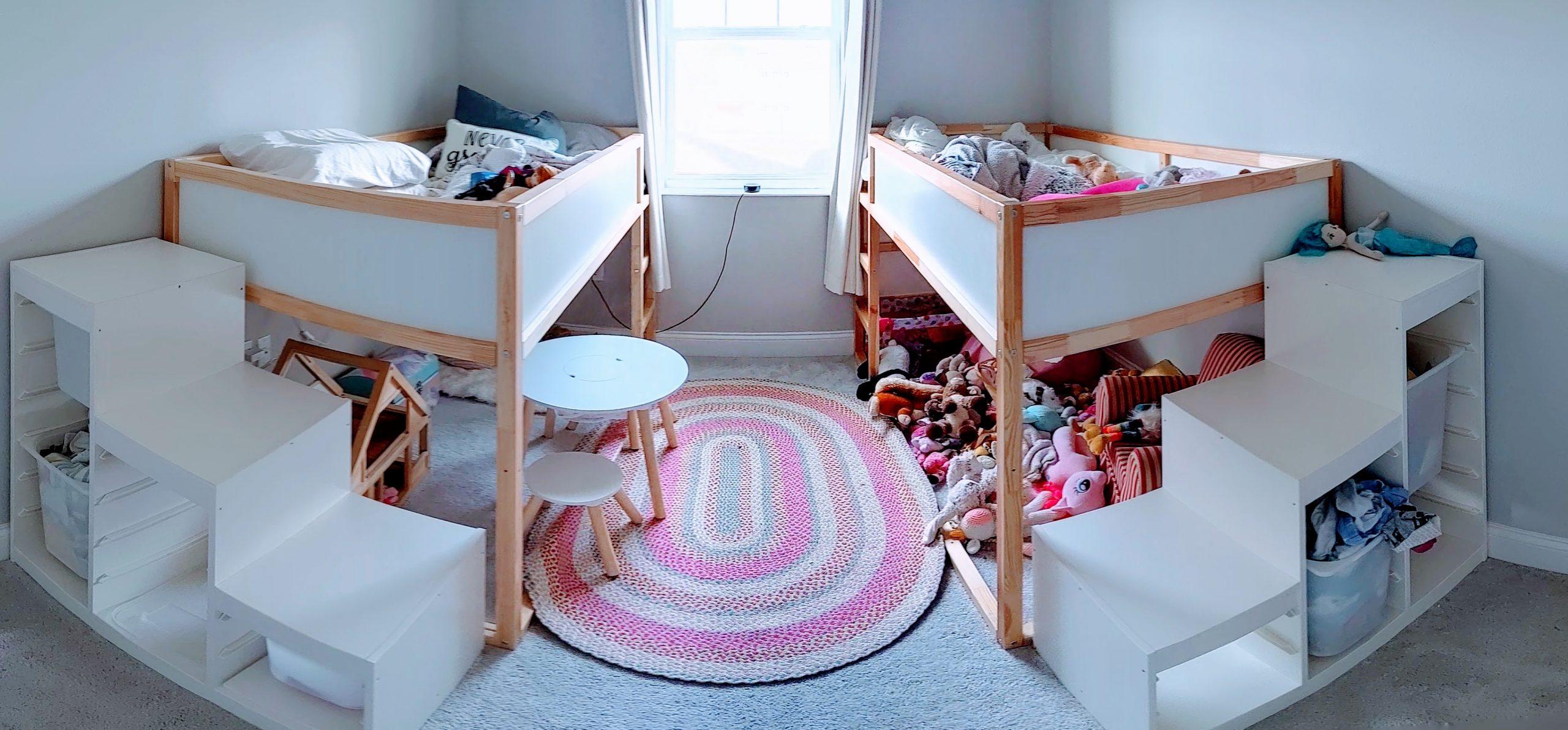 IKEA Girls Bedroom Hack