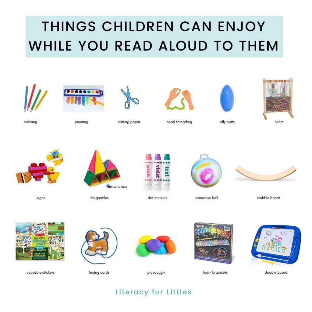 Reading to children - things to enjoy