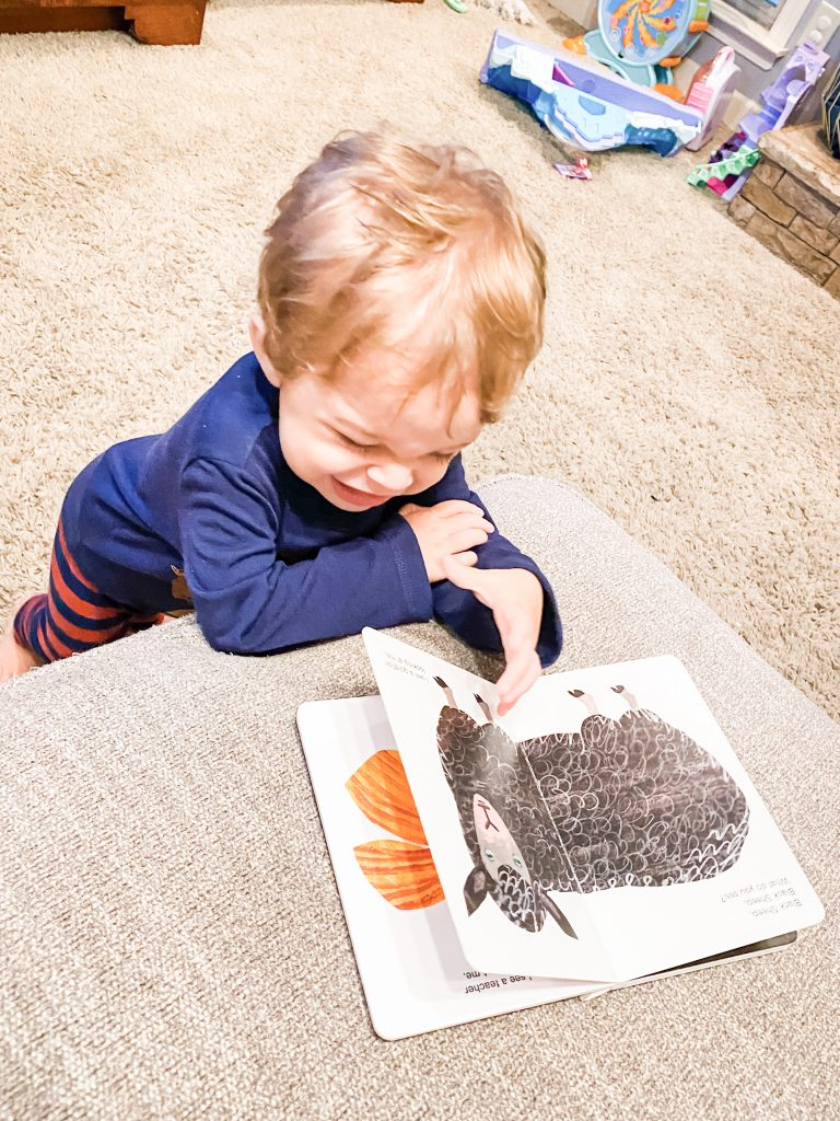 benefits of reading to children toddler age