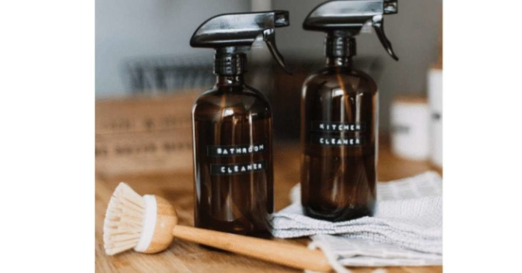Use Non-Toxic Cleaners