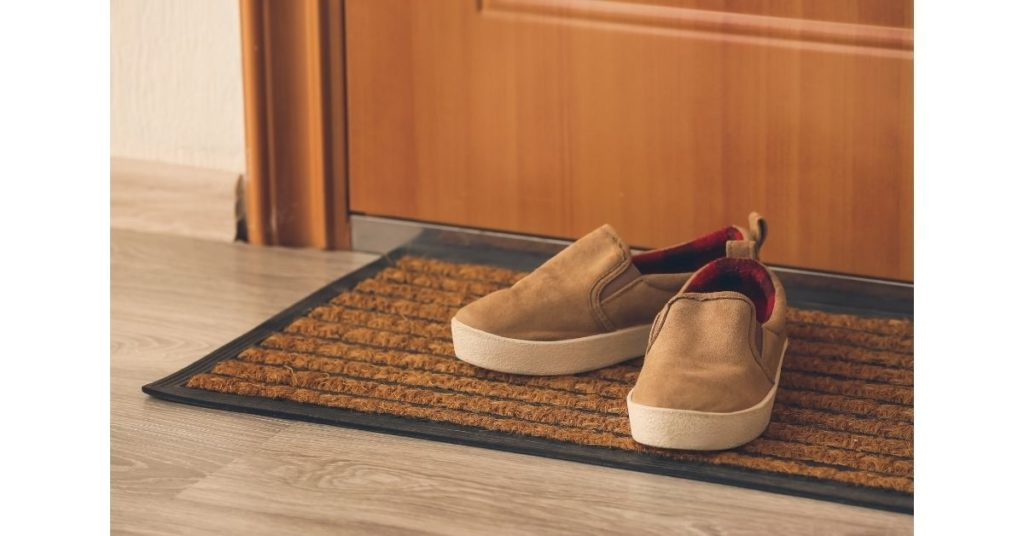 Take Your Shoes Off When You Enter Your Home