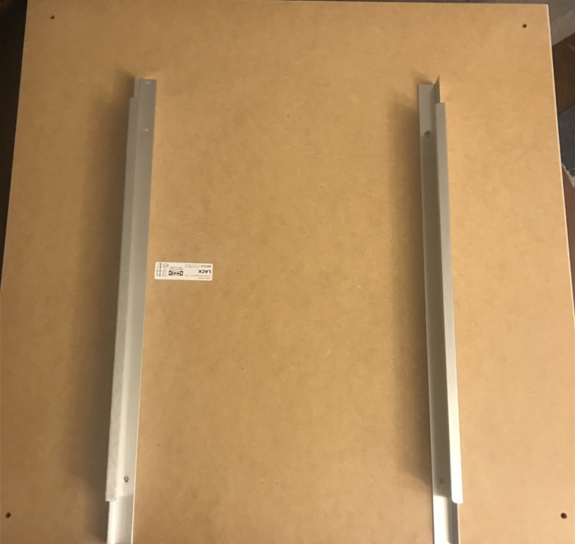 adding drawer tracks